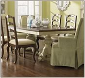 Giselle Double Pedestal Dining Table